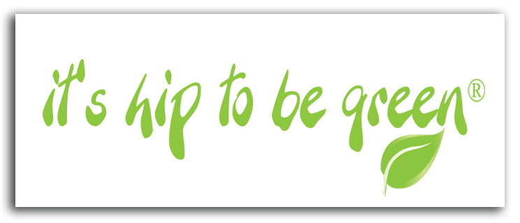 It's Hip To Be Green® Static Window Sticker