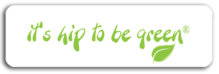 It's Hip To Be Green®  Magnetic Bumper Sticker